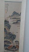 Chinese Chinese Water Color Painting By Famours Artist