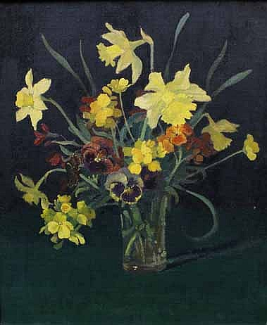 Elioth Gruner (1882-1939) Still Life 1932 oil on canvas on board