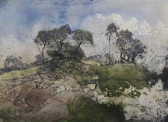 John Caldwell (born 1942) (Untitled) watercolour