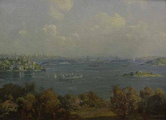 John Allcot (1888-1973) (Untitled) oil on canvas on board
