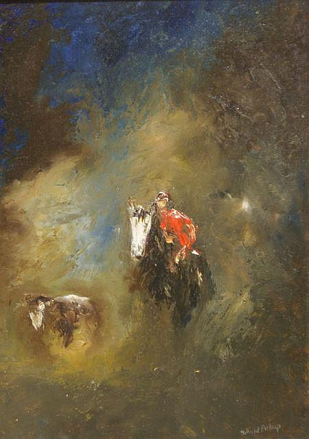 John W. Pickup (born 1931), Bulldogging