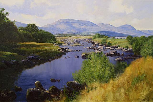 John Downton (born 1939), Ancient Ardara Area (County Donegal, Ireland) 1991