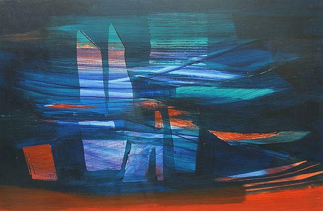 Joseph Stanislaus Ostoja-Kotkowski (Poland, 1922-1994), (Untitled)