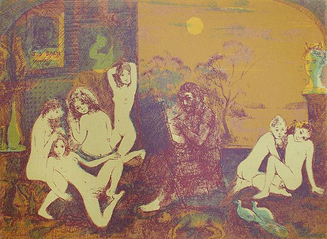 Paul Delprat (born 1942), A Collection of Four Prints