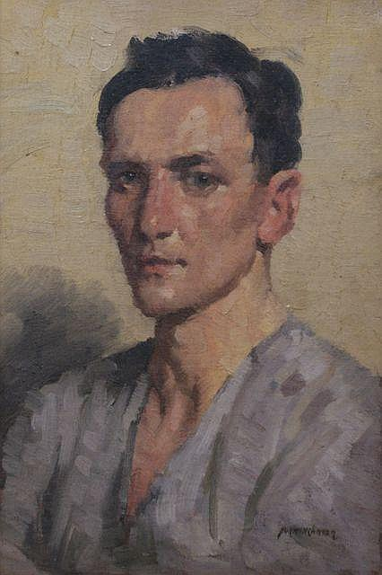Norman Carter (1875-1963), Portrait of a Man