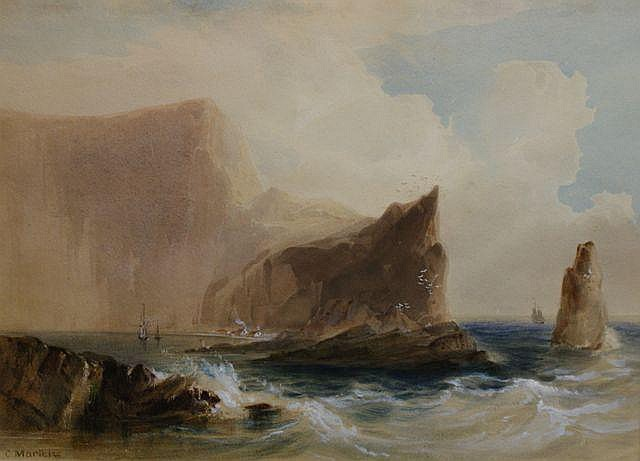 Conrad Martens (1801-1878), (The Island of St Paul)
