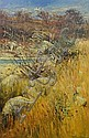 Patrick Carroll (born 1949), Bush Rocks in Autumn Landscape, Bathurst, Patrick Carroll, Click for value