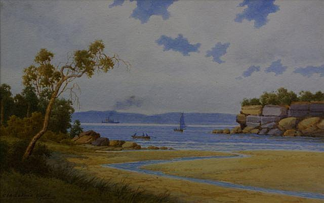 Gladstone Eyre (1863-1933), Parsley Bay