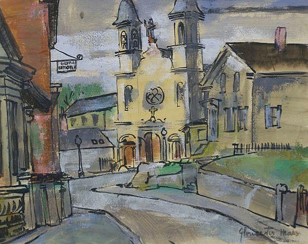Francis Revesz-Ferryman (Hungarian/American, 1893-1947), Gloucester Mews