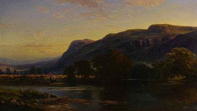 Charles Rolando (1844-1893), Victorian Landscape