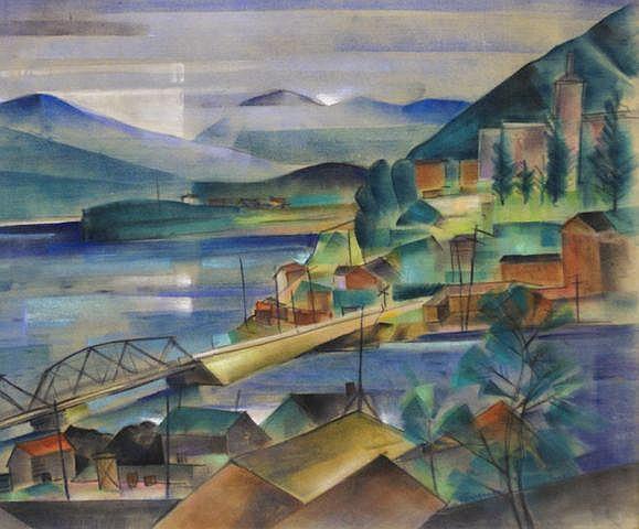Francis Revesz-Ferryman (Hungarian/American, 1893-1947), (Untitled)