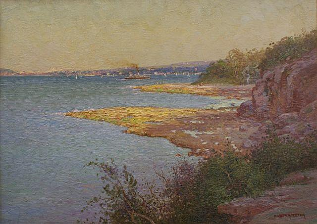William Lister Lister (1859-1943), Sydney Harbour