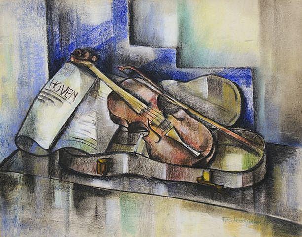 Francis Revesz-Ferryman (Hungarian/American, 1893-1947), Violin