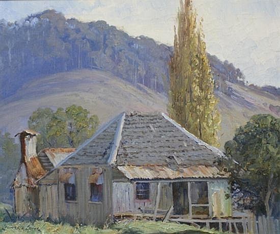 Leonard Long (born 1911) King's Old Home, Wattamula Valley, NSW oil on canvas