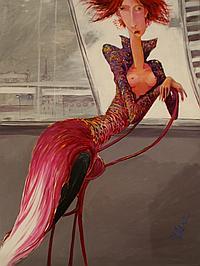 Marek Wilinski (born 1949) Young Confidence 2004 acylic on linen