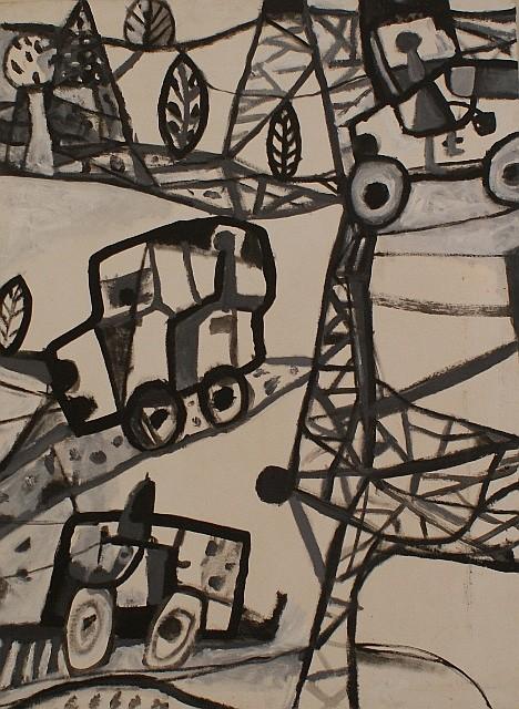 Peter Ferguson (born 1956) Natural Macharno oil on canvas