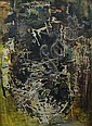 Margo Lewers (1908-1978) (Untitled) mixed media, Margo Lewers, Click for value