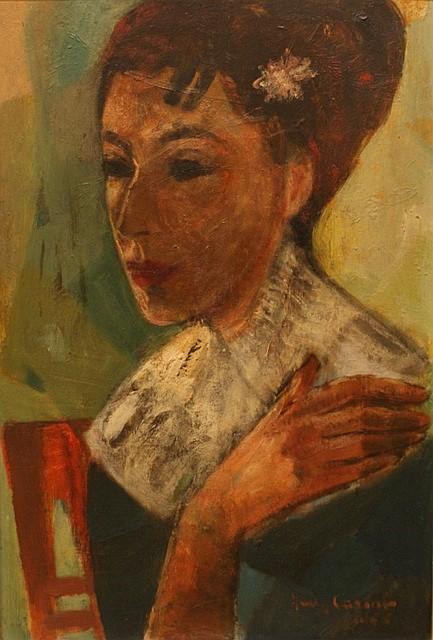 Judy Cassab (born 1920) (Untitled) 1955 oil on board