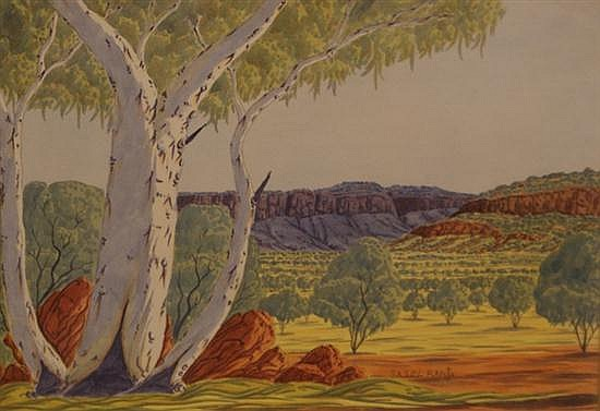 Basel Rantji (1936-1999) (Untitled) watercolour