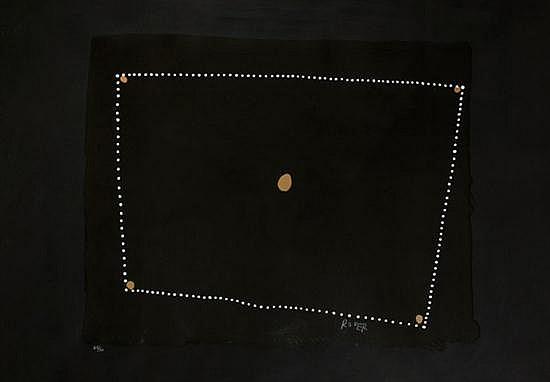 Rover Thomas (circa 1926-1998) Punmu: The Universe screenprint