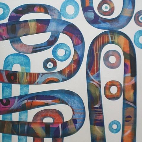 Marnie Wark (born 1975) A Moment's Harmony 2006 acrylic on canvas