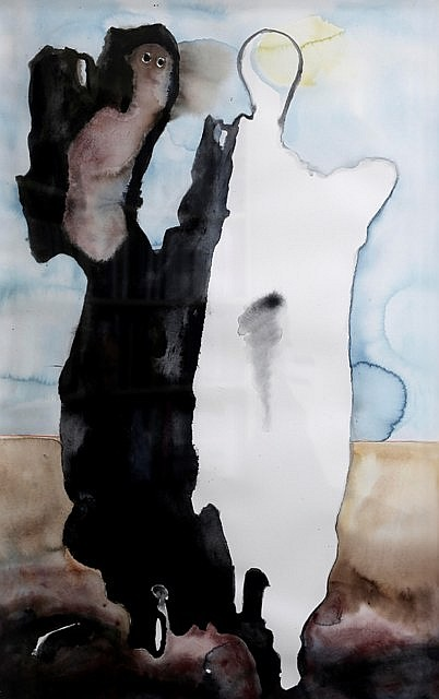 G. W. Bot (born 1954) On Being watercolour