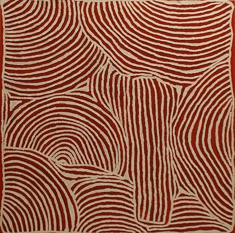 Ningura Naparrula (born circa 1938) Country Near Kintore 2003 acrylic on canvas