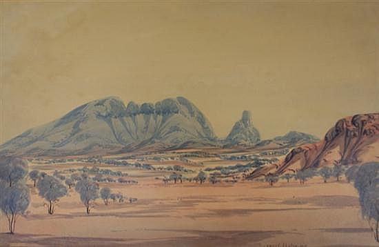 Arnulf Ebatarinja (born 1931) (Untitled) watercolour