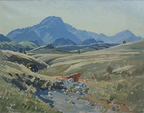 Max Ragless (1901-1981) (Untitled) oil on canvas