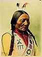 SITTING BULL (Tatanka Iyotanka), Hunkpapa Lakota, by William Notman, at Montreal, 1885.