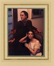 """Marie Cosindas (1923 – 2017) Portrait from the series """"Athenaeum Ladies"""" 1969. C-print"""
