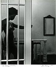 "JOAN MURRAY, ""The Hallway to the Room"", 1970. Gelatin silver print"