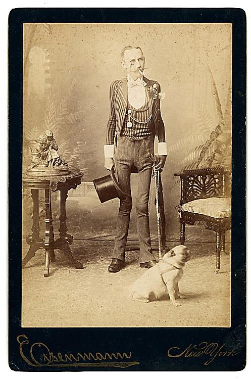 J. M. Coffey, human skeleton.