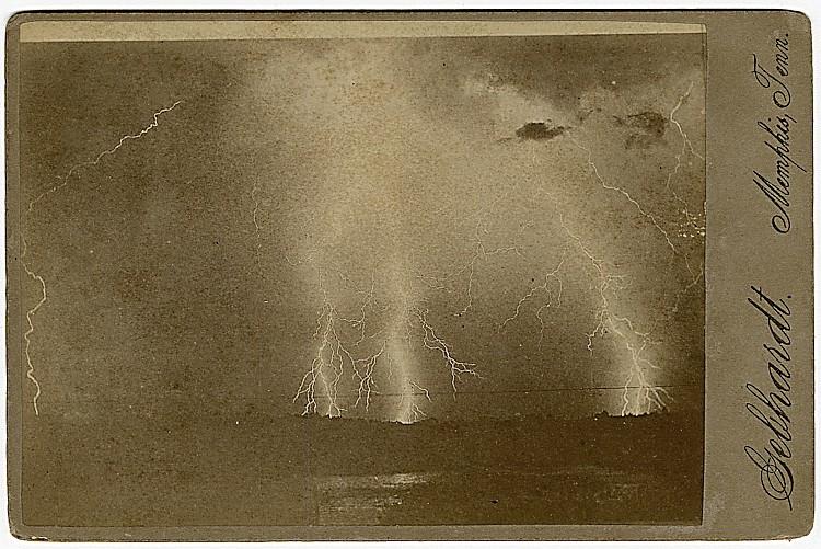 An electric storm over Memphis.