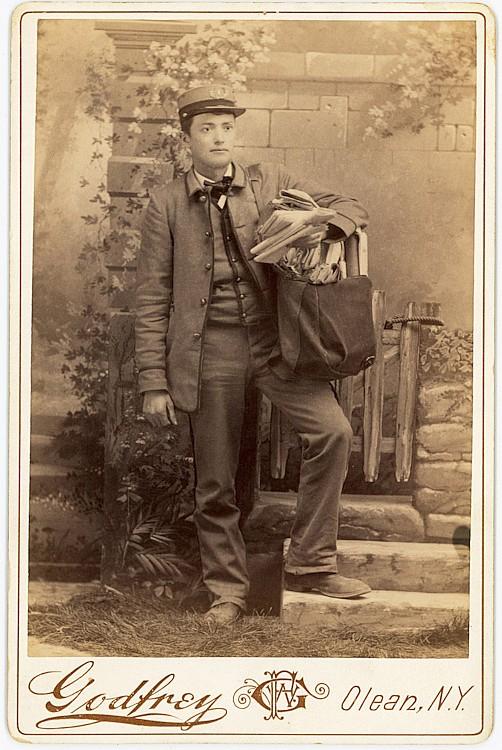 A mail man.