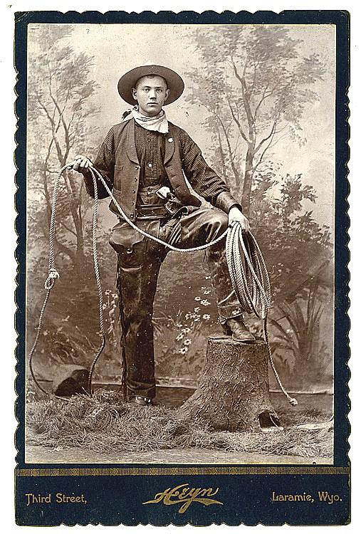 A cowboy.
