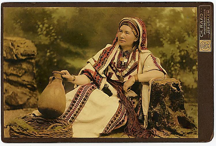 A Jerusalem woman.