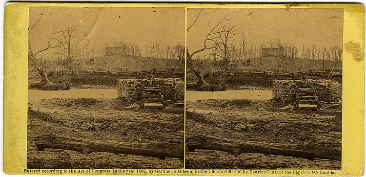 Two views by O'Sullivan and Barnard. C. 1862 by Gardner & Gibson.