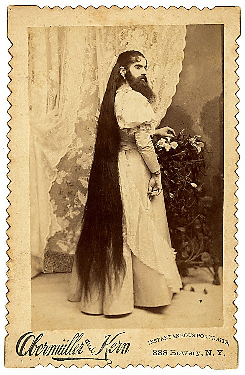 Annie Jones, bearded lady.