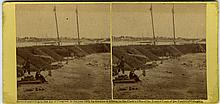 Docks, Batteries, Breastworks, by O'Sullivan, Barnard.  3 views.