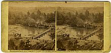 North Anna, 3 views by O'Sullivan. c. 1864 by Gardner. Published Philp  & Solmons, credit O'Sullivan.