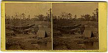 Battery near Yorktown, by James F. Gibson. Copyright 1862 by Gardner & Gibson, Published by Gardner, credit to Gibson.
