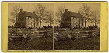 """Mathew's House, Bull Run"" by George Barnard. C. 1862 by Gardner & Gibson."