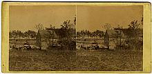 """Elliston's Mill… "" by Gardner. No. 920. ""…. Battle-field of Mechanicsville, Va. April 16, 1865."""