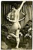 Six photo postcards of nudes.
