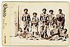 Australian Aborigines 2 cabinet cards, rare pamphlet