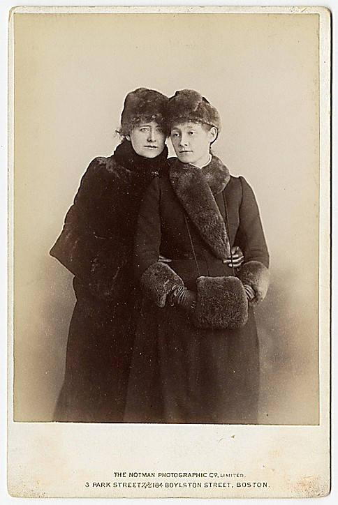 Ellen Terry and her daughter. Terry was the great English Shakespearean actress for much of the 19th Century.