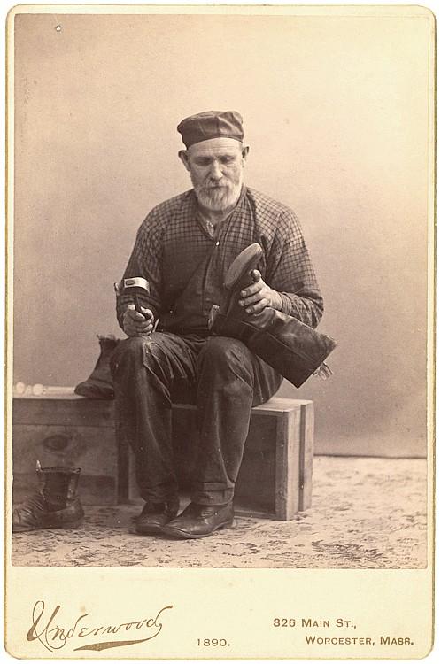 A boot maker.