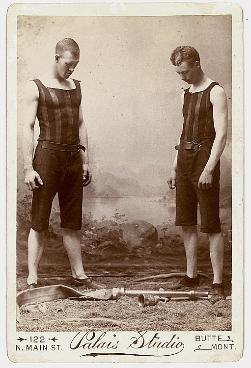 Firemen, winners of the 1892 World Hose Coupling Championship.