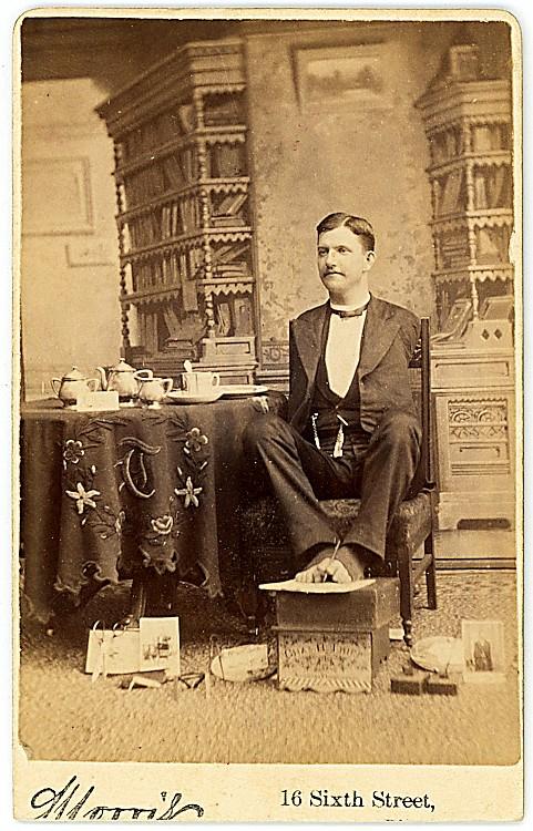 Charles B. Tripp, armless.